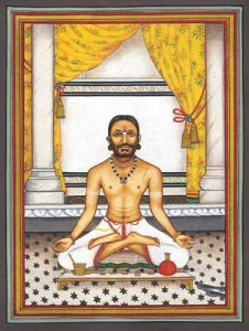Posture de méditation