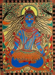 Shiva méditant